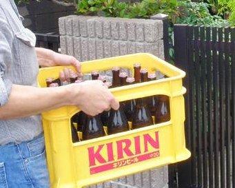 配達イメージ・ビール