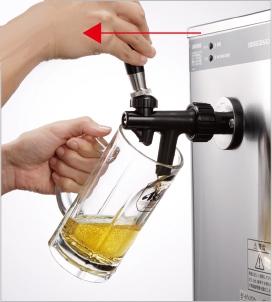 ビール出し